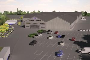 Cartwright's new Lincolnshire premises